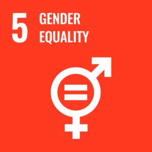 Sustainable goal 5, Gender equality